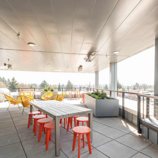 Sandy28 - Rooftop Deck with Outdoor Lounges Featuring Unobstructed Downtown Portland Views